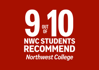 89% of students would recommend NWC to a friend or family member