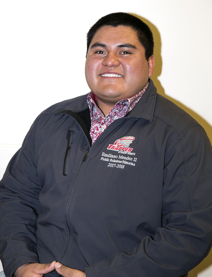 Emiliano Mendez II Student Senate Photo