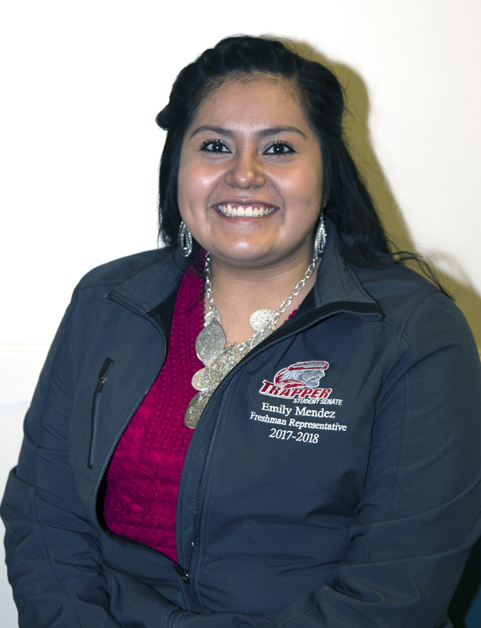 Emily Mendez Student Senate Photo