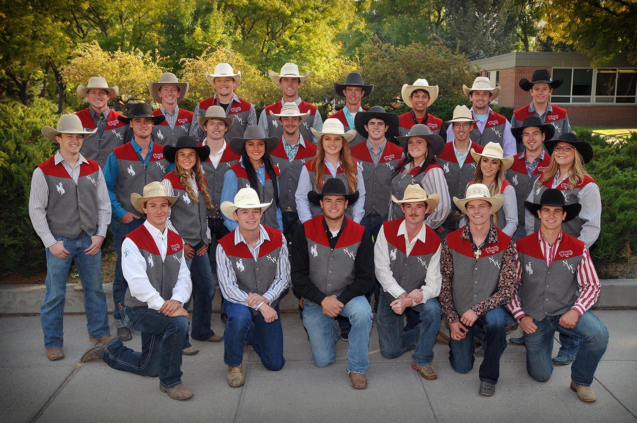 Team Photo Trapper Rodeo Northwest College
