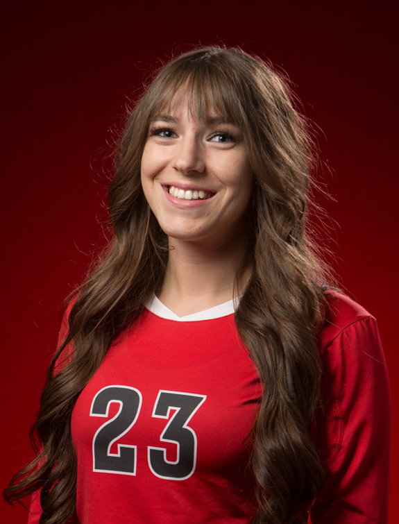 Megan Huddleston Past Roster Trapper Volleyball