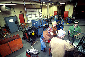 Main Welding Lab